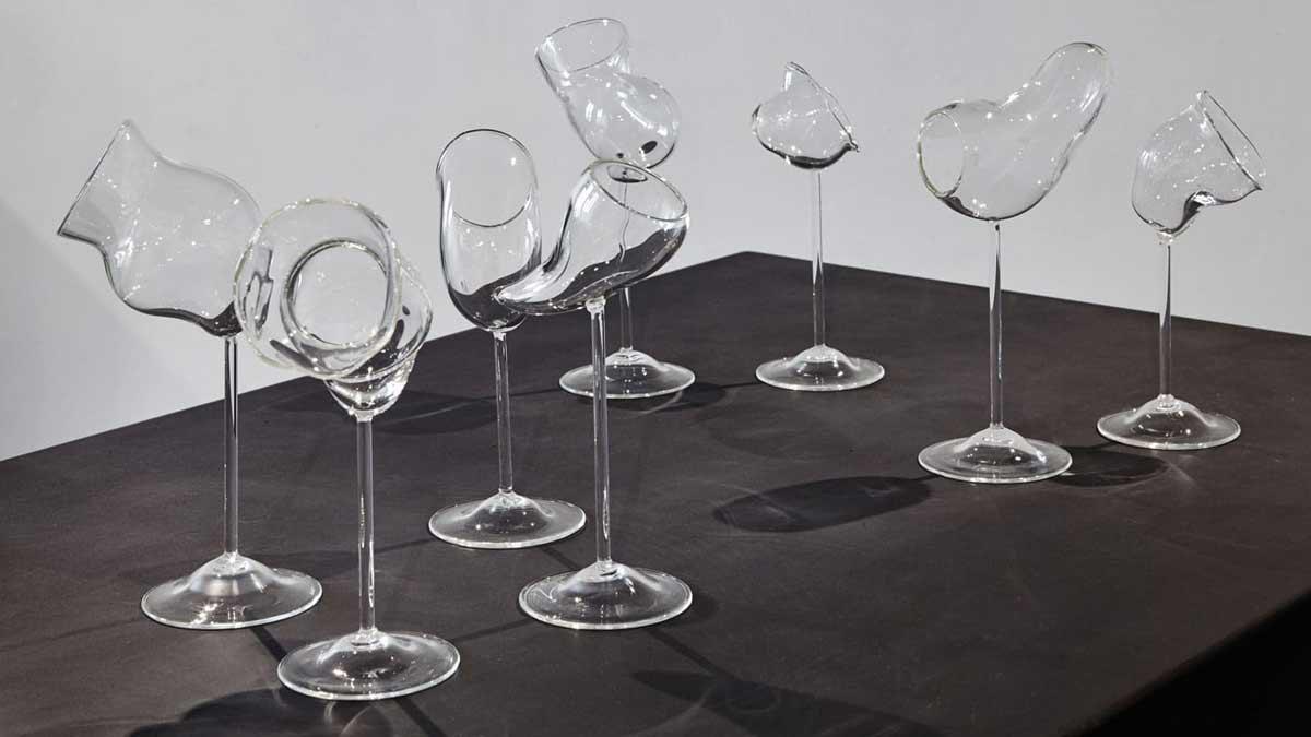 """Exposition """"Renversant"""": verre et design à la Cité du Vin de Bordeaux"""