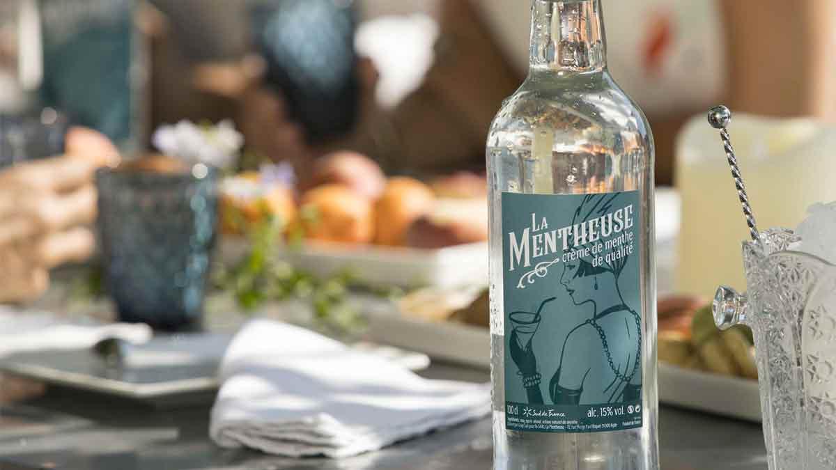 Focus : Crème de menthe – La Mentheuse 15%